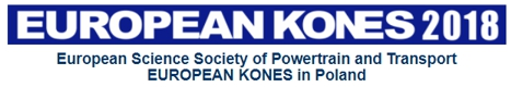 44th International Scientific Congress on Powertrain and Transport Means European KONES 2018
